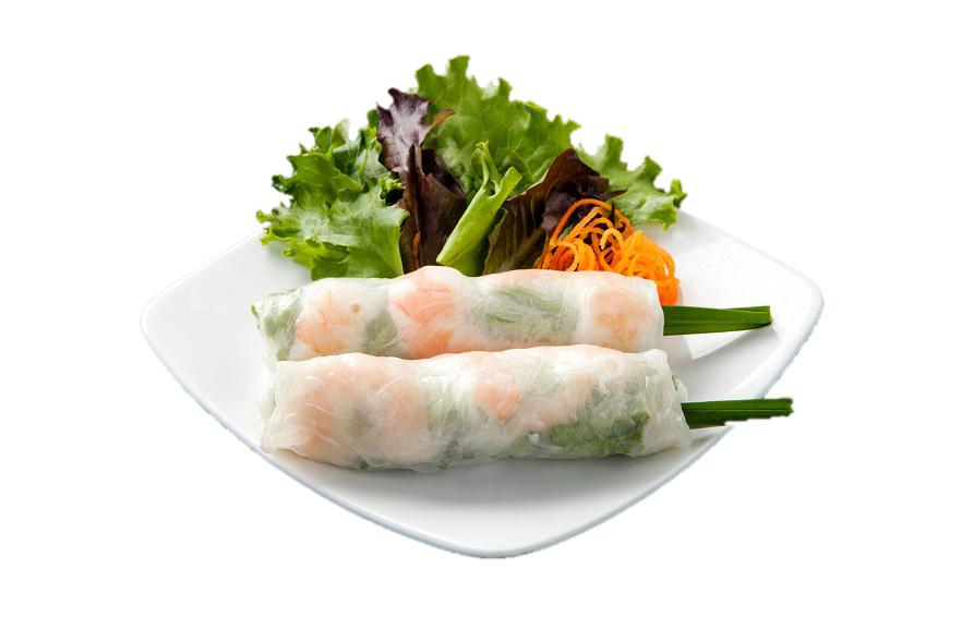 A02. Spring Rolls (gluten free) / Gỏi Cuốn